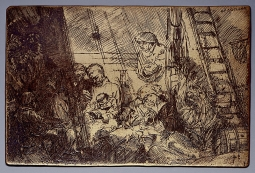 Rembrandt van Rijn (1606-1669, etching), unknown photographer / Public domain